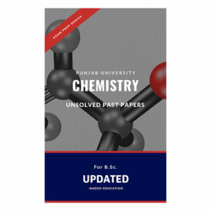 chemistry bsc past papers pu