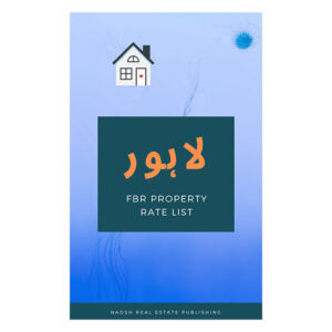 Lahore FBR Property Rate List